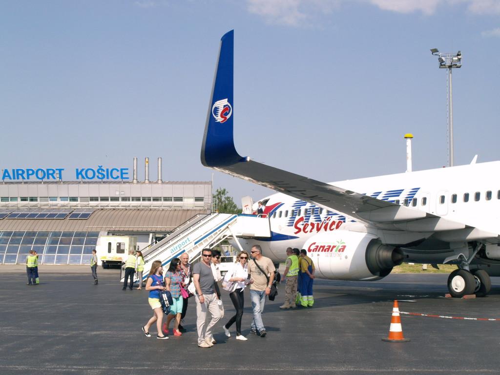 Letná sezóna letisko Košice