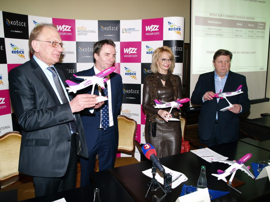 Wizz Air v Košiciach