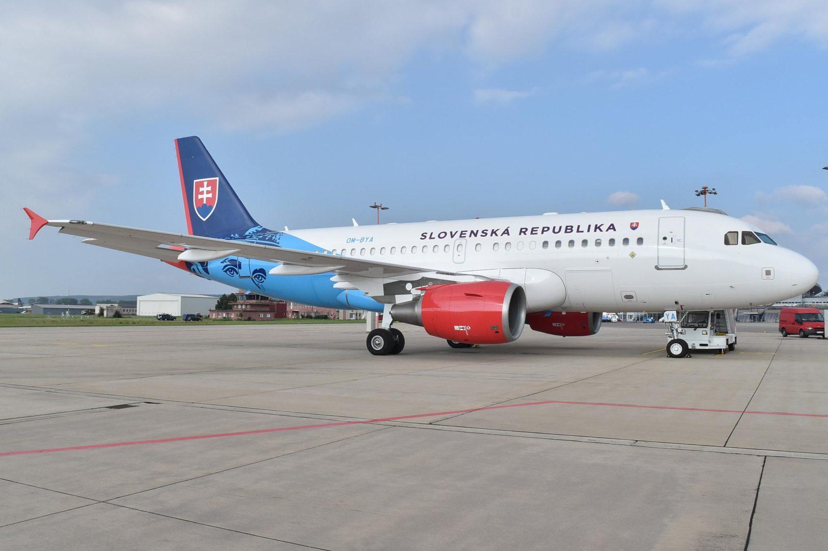 Vládne špeciály_A319 OM-BYA Sloven. rep.