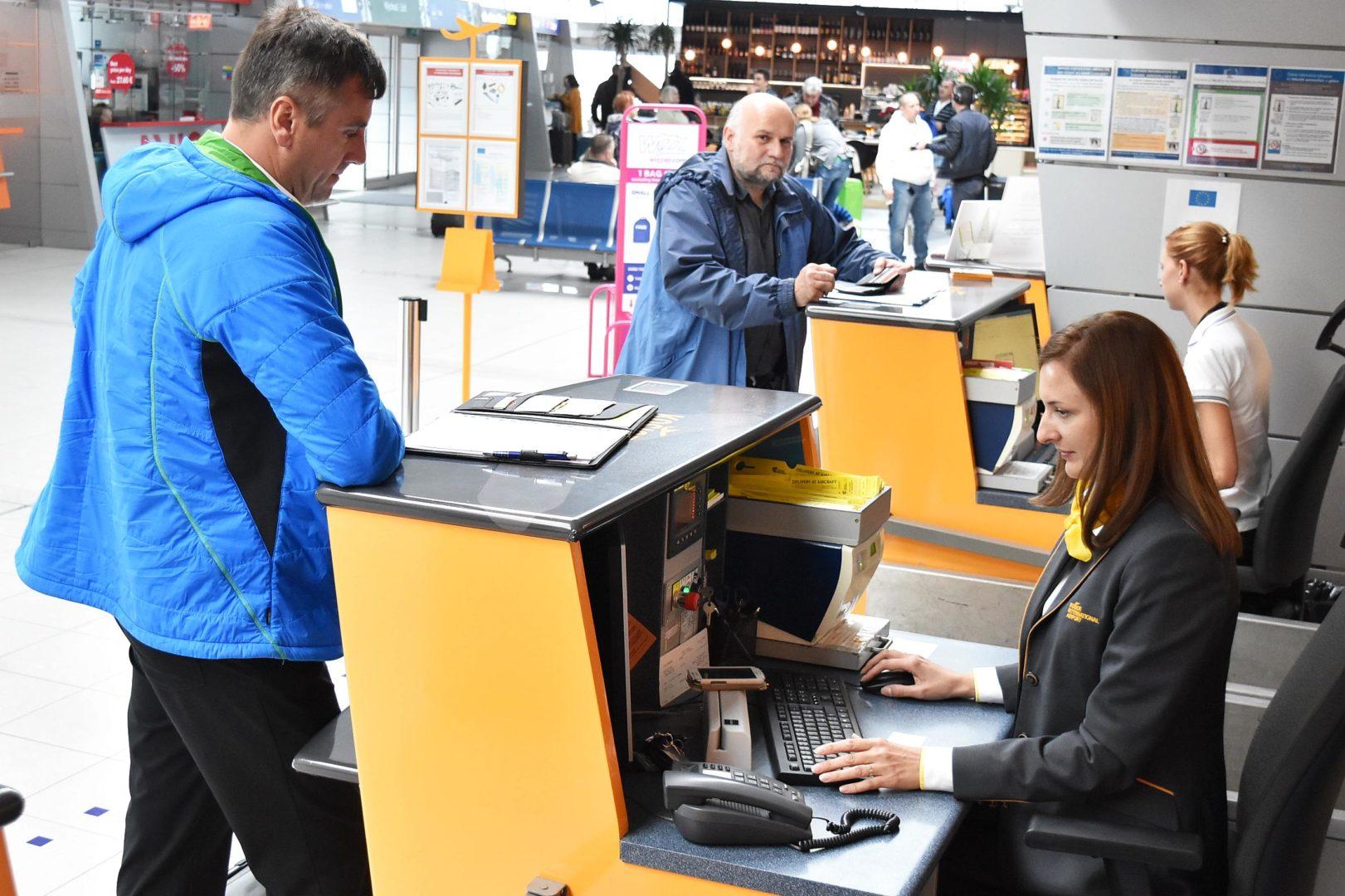 Letisko Košice - check in