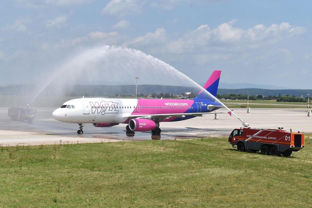 Wizz Air lietadlo