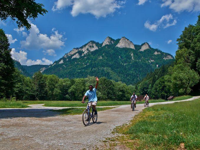 Cyklistika v Pieninách