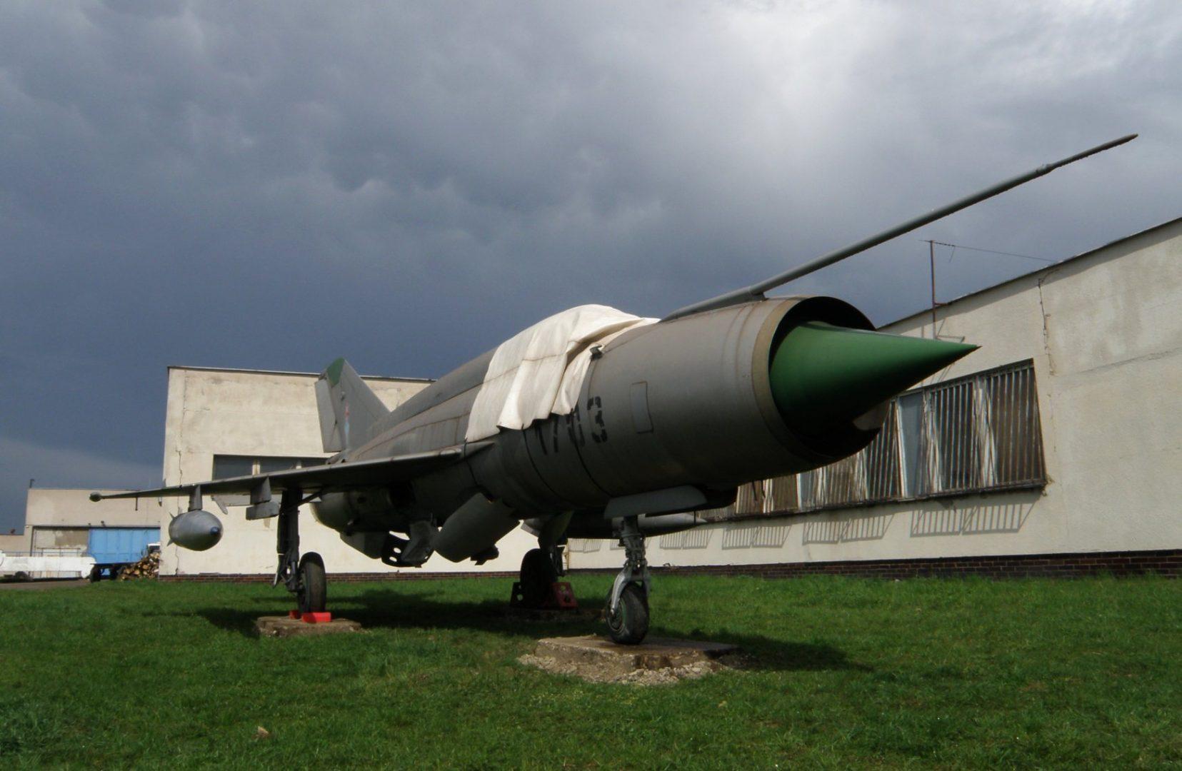 mig-21r fb muzea letectva