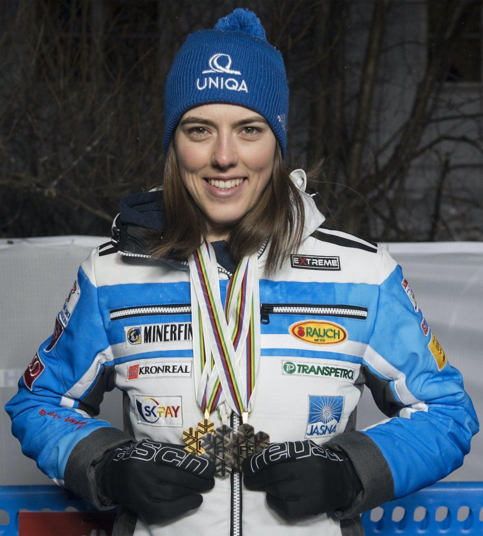 Petra Vlhov· zlat· strieborn· bronzov· medaila
